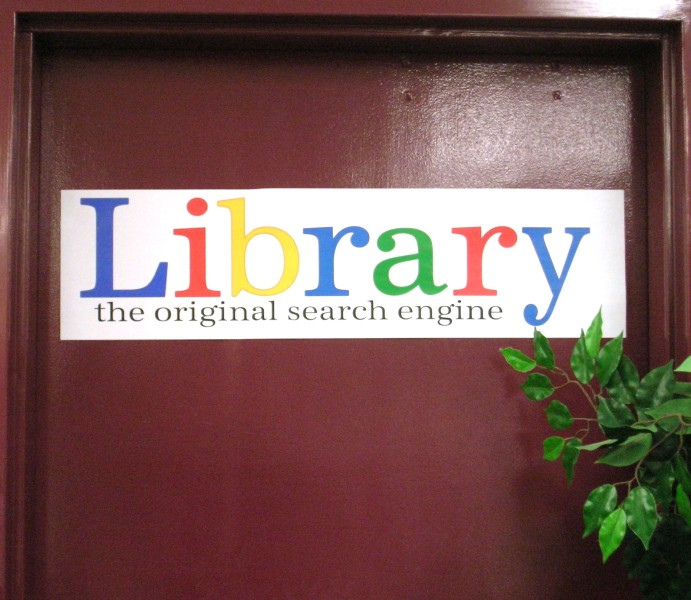 Library search engine